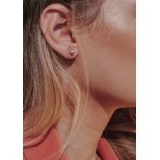 "Auksiniai auskarai ""Burbuliukai"" 5mm"