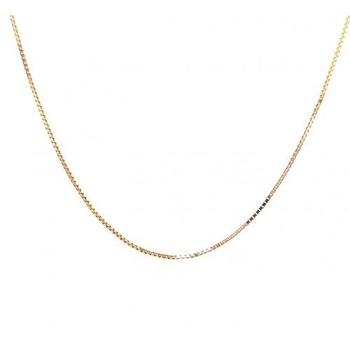 Auksinė grandinėlė 45 cm