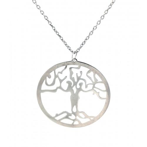"""Sidabrinis koljė """"Medis"""""""
