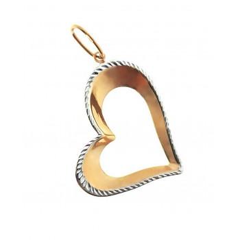 """Auksinis pakabukas """"Širdelė"""""""