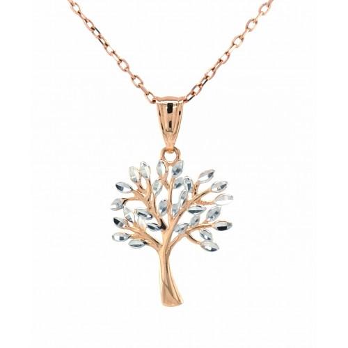 """Auksinis pakabukas """"Gyvybės medis"""""""