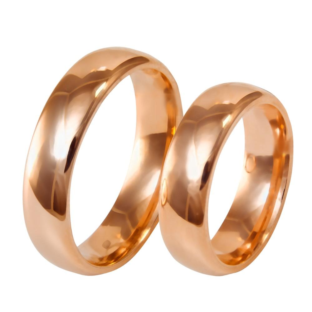 6mm klasikiniai auksiniai vestuviniai žiedai